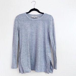 🌷• Gray Casual Tunic Tee •